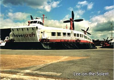 THE PRINCESS MARGARET SRN4 Lee on Solent Hovercraft Museum