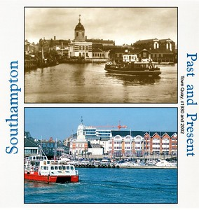 Hythe Ferries GREAT EXPECTATIONS 2002 HOTSPUR [2] c1930 Southampton