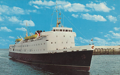 MONA'S QUEEN [5] Isle of Man Steam Packet Co