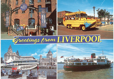 ROYAL IRIS  DUKW WACKER QUACKER II Liverpool
