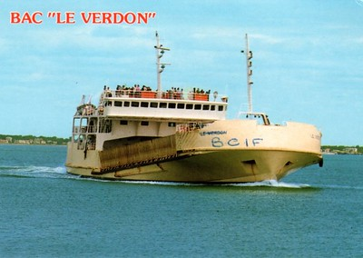 LE VERDON 1978 on the Gironde BCIF a joke maybe