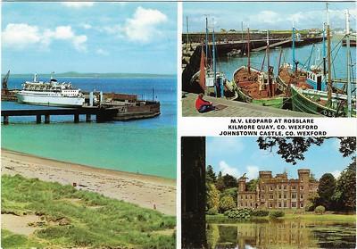 mv LEOPARD Rosslare Normandy Ferries COUNTESS M