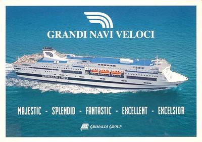 GNV Grimaldi Group generic MAJESTIC SPLENDID 3 more