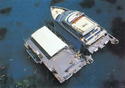 QUICKSILVER V perhaps  Wavepiercer Port Douglas