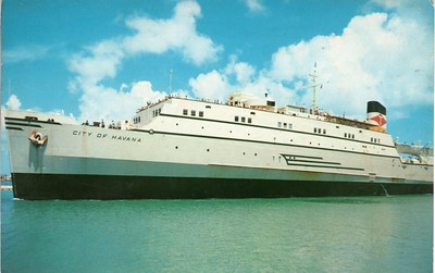 ss CITY OF HAVANA Departing Key West
