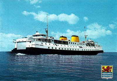 PRINSES MARGRIET PSD Provinciale Stoombootdiensten in Zeeland