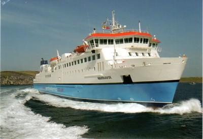HAMNAVOE Northlink Ferries from 2012