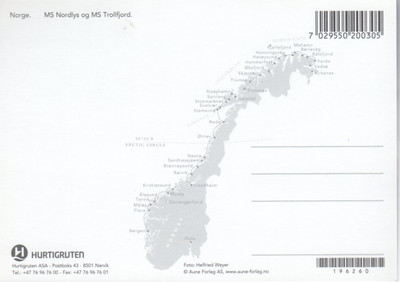Hurtigruten NORDLYS TROLLFJORD-001