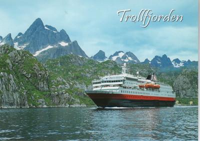 Hurtigrute Trollfjord