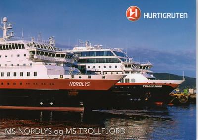 Hurtigruten NORDLYS TROLLFJORD