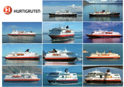 Hurtigruten Fleet 10 11 2012