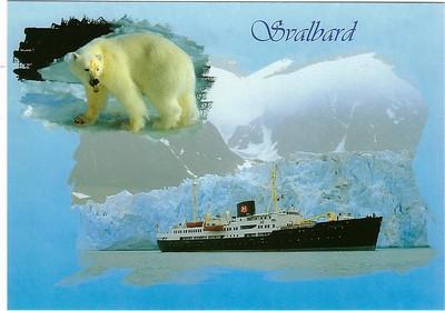 NORDSTJERNEN 1956 Svalbard Hurtigruten 2019