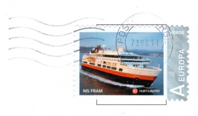 FRAM Stamp Aug 2011