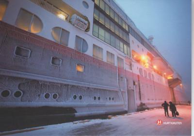 MIDNATSOL Hurtigrute