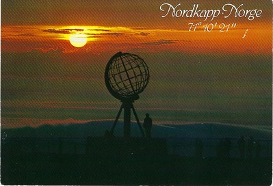 Nordkapp Norway Arctic Circle  from VESTERALEN 23 May 1984