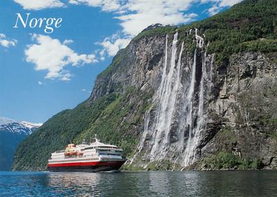 Geiranger Fjord Seven Sisters Waterfall NORDKAPP-001