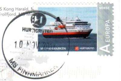 Stamp msFINNMARKEN 10 11 2012