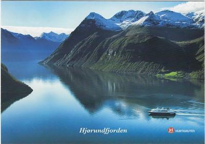 Hjorundfjorden Hurtigruten 2016