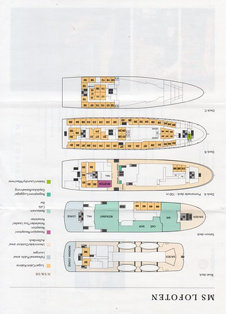 LOFOTEN Deck Plans 2014