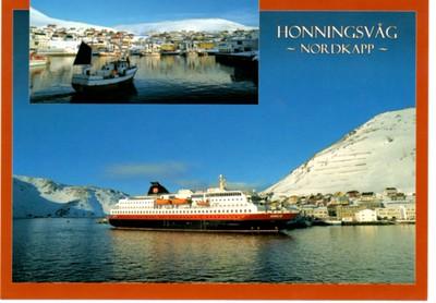 NORDLYS Honningvag Nordkapp 2012