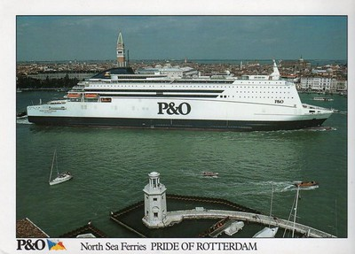 PRIDE OF ROTTERDAM P&O North Sea Ferrries