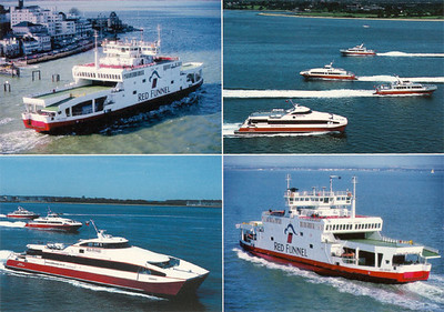 Red Funnel Ferries Fleet from 2005
