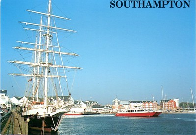 LORD NELSON RED JET 1 or 2 Southampton