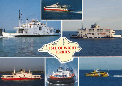 Red Funnel & Wightlink Isle of Wight Ferries
