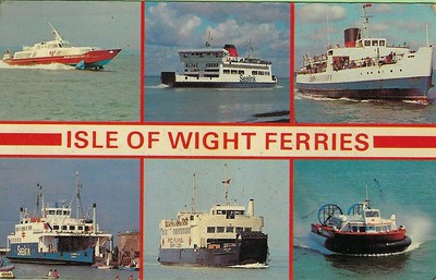 SHEERWATER ST CATHERINE BRADING CENWULF NETLEY CASTLE AP1-88 Hovercraft IOW Ferries