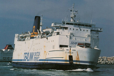 ST ANSELM Sealink British Ferries