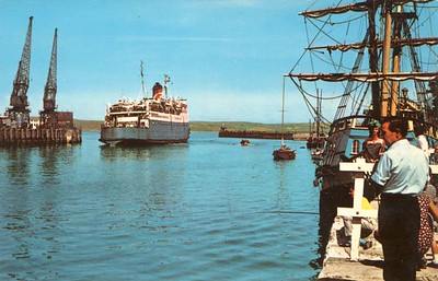 CAESAREA Sealink Weymouth from 1972