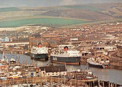 CALEDONIAN PRINCESS MAID OF KENT Sealink Newhaven