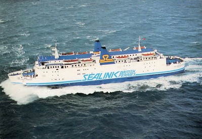 GALLOWAY PRINCESS Sealink British Ferries