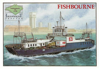 FISHBOURNE (2) Sealink Portsmouth