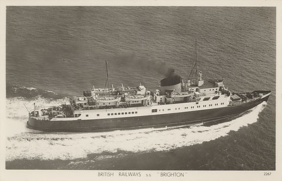 BRIGHTON 1950 British Railways Sealink