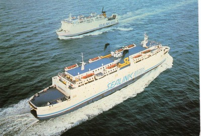 GALLOWAY PRINCESS DARNIA Sealink British Ferries