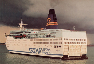 FELICITY Sealink British Ferries