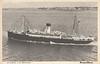 SUECIA - BRITANNIA 1929 but post extension 1950 Swedish Lloyd