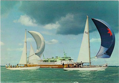 VIKING III Solent Thoresen Car Ferries 1965