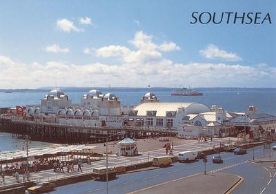 VIKING VENTURER Townsend Thoresen North Parade Pier Southsea Portsmouth