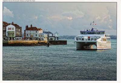 WIGHT RYDER I or II Portsmouth Wightlink