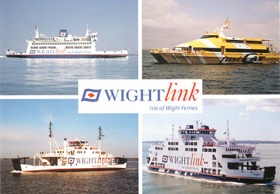Wightlink Ferries from 2007