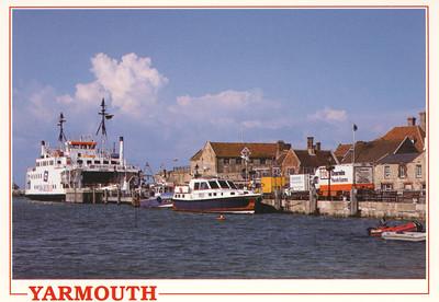 CAEDMON Yarmouth Harbour Wightlink