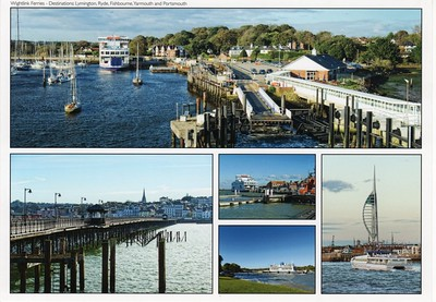 Wightlink Ferries Lymington Ryde Fishbourne Yarmouth Portsmouth from 2013