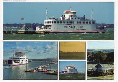 WIGHT SKY WIGHT LIGHT Lymington Wightlink