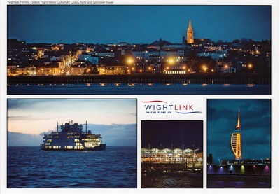 ST CLARE Portsmouth Ryde Night Wightlink
