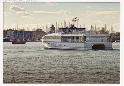 WIGHT RYDER II Portsmouth Wightlink
