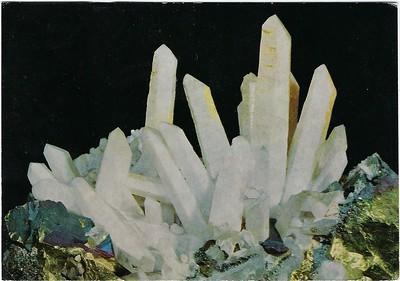 Prismatic Crystals Quartz Geological Museum London