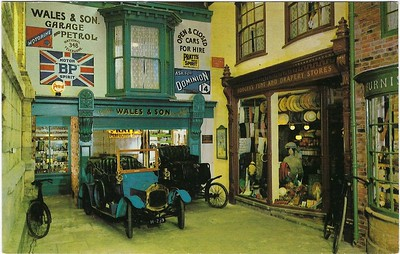 The Garage Castle Museum York 1976
