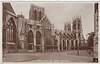 North Side York Minster from 1953
